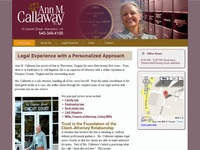 Ann Callaway, Attorney at Law, Warrenton, Virginia